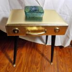 upcycled gold briefcase accent table purple lining wooden legs etsy fullxfull okgj with drawer side cabinet real marble top coffee navy blue lamp shade skirting hayworth 150x150