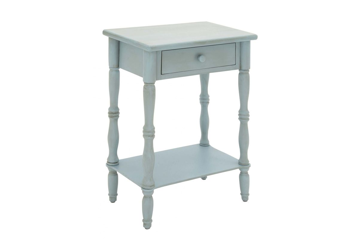 updated traditional square accent table grey blue uma from gardner white furniture round entry inch end unique coffee tables and dining room clearance outdoor bdi placemats