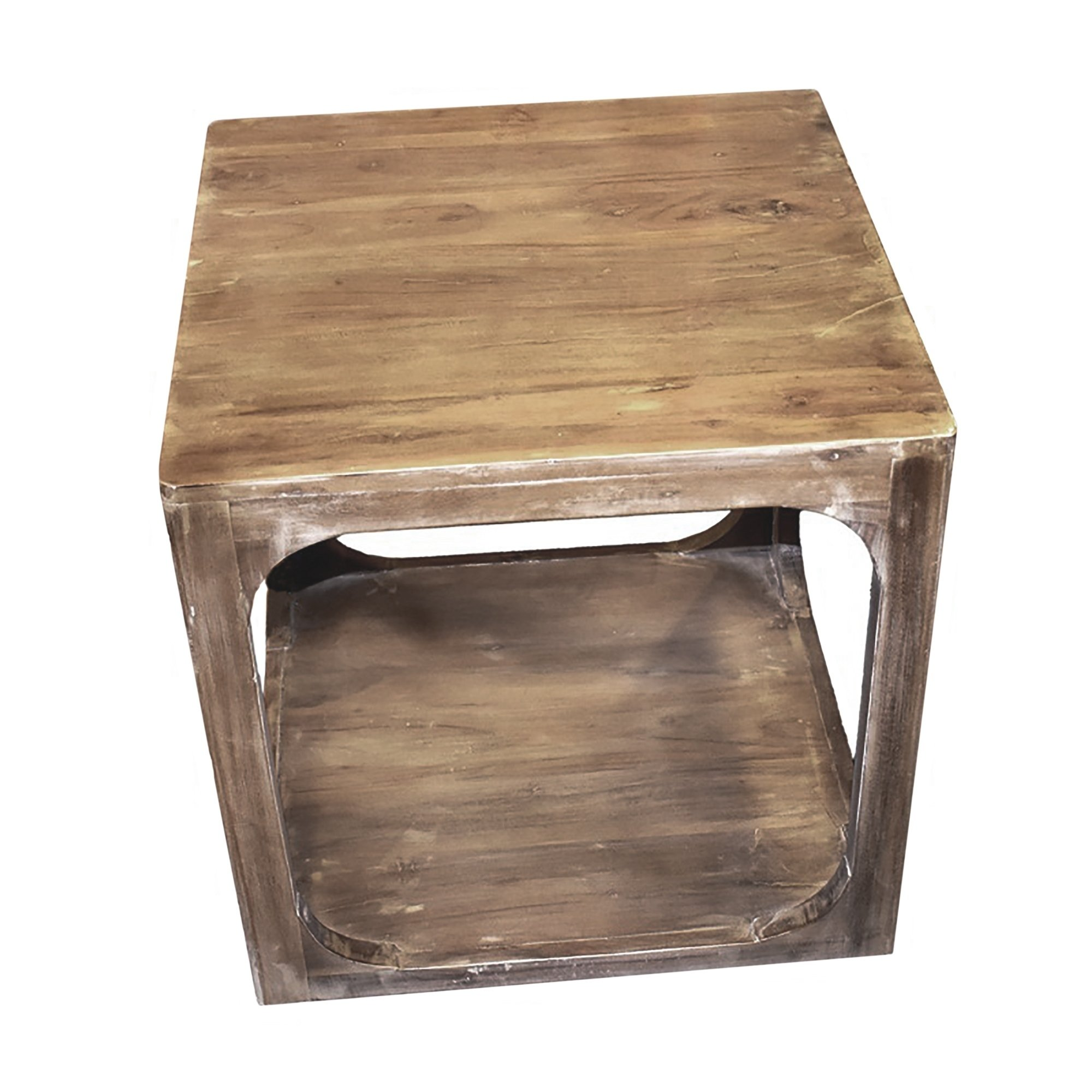 urban designs alton brown natural wood accent side table night free shipping today with storage baskets west elm coffee desk kitchen chairs tall bistro made clear console tile