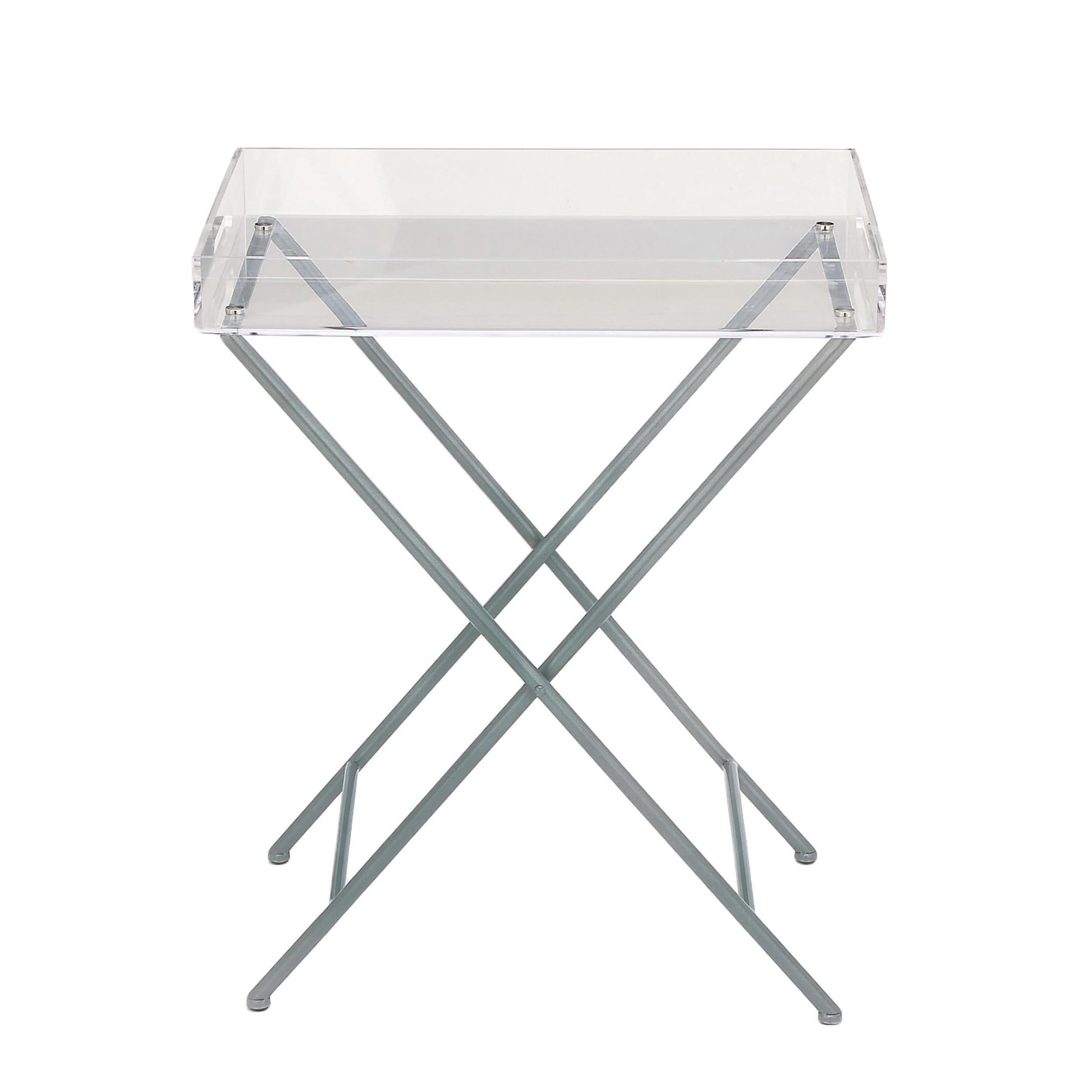 urban designs clear acrylic tray top accent table free modern shipping today white round end target kids rugs side metal and wood small front porch sideboard grey bedroom chair