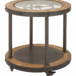 urban designs clock top industrial end table chestnut accent pottery barn bean bag mosaic tile bistro home goods sofa grey occasional formal dining room patio set covers entryway 150x150