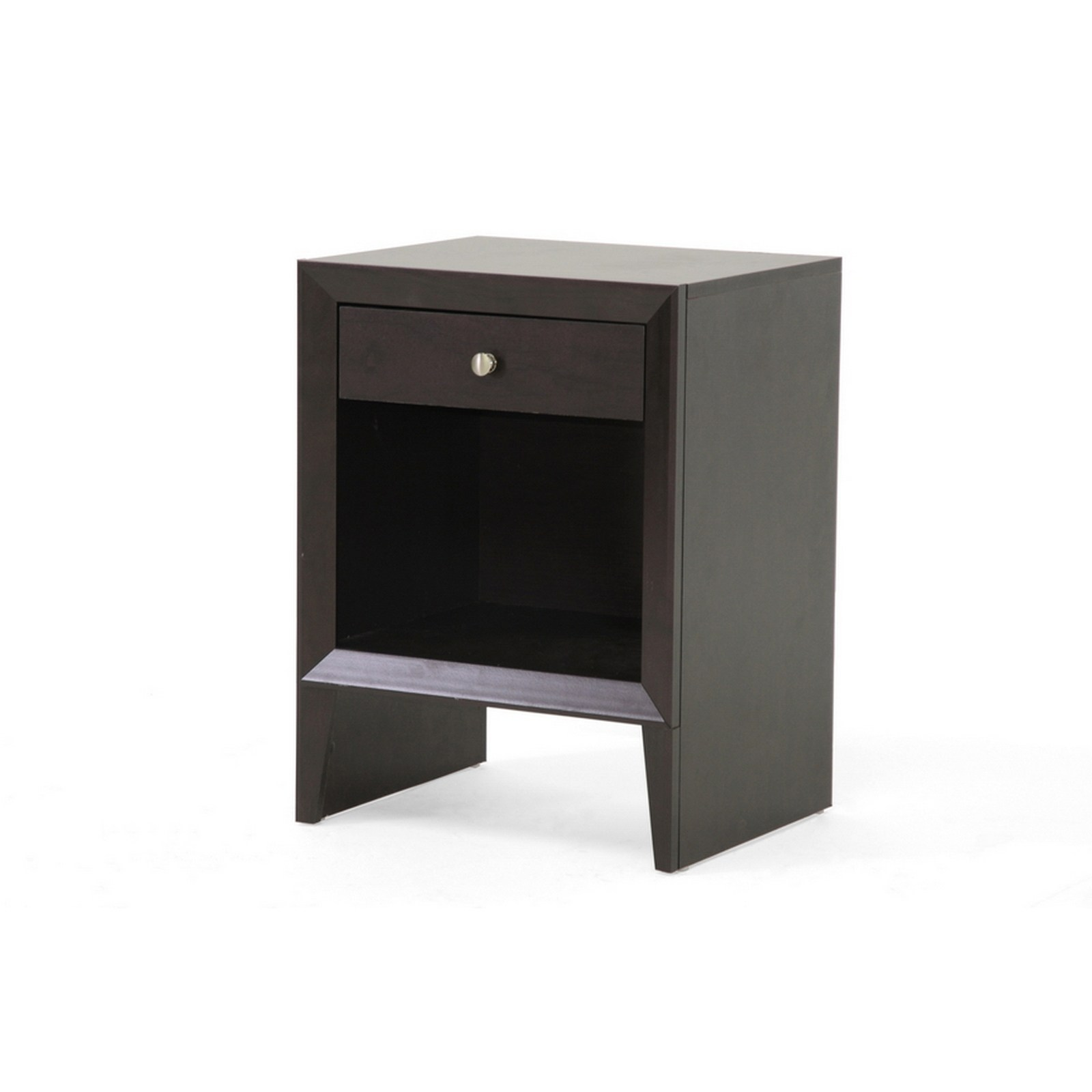 urban designs inch leelanau brown modern accent table and nightstand tables free shipping today round wood iron coffee vita silvia pool umbrella coastal furnishings affordable
