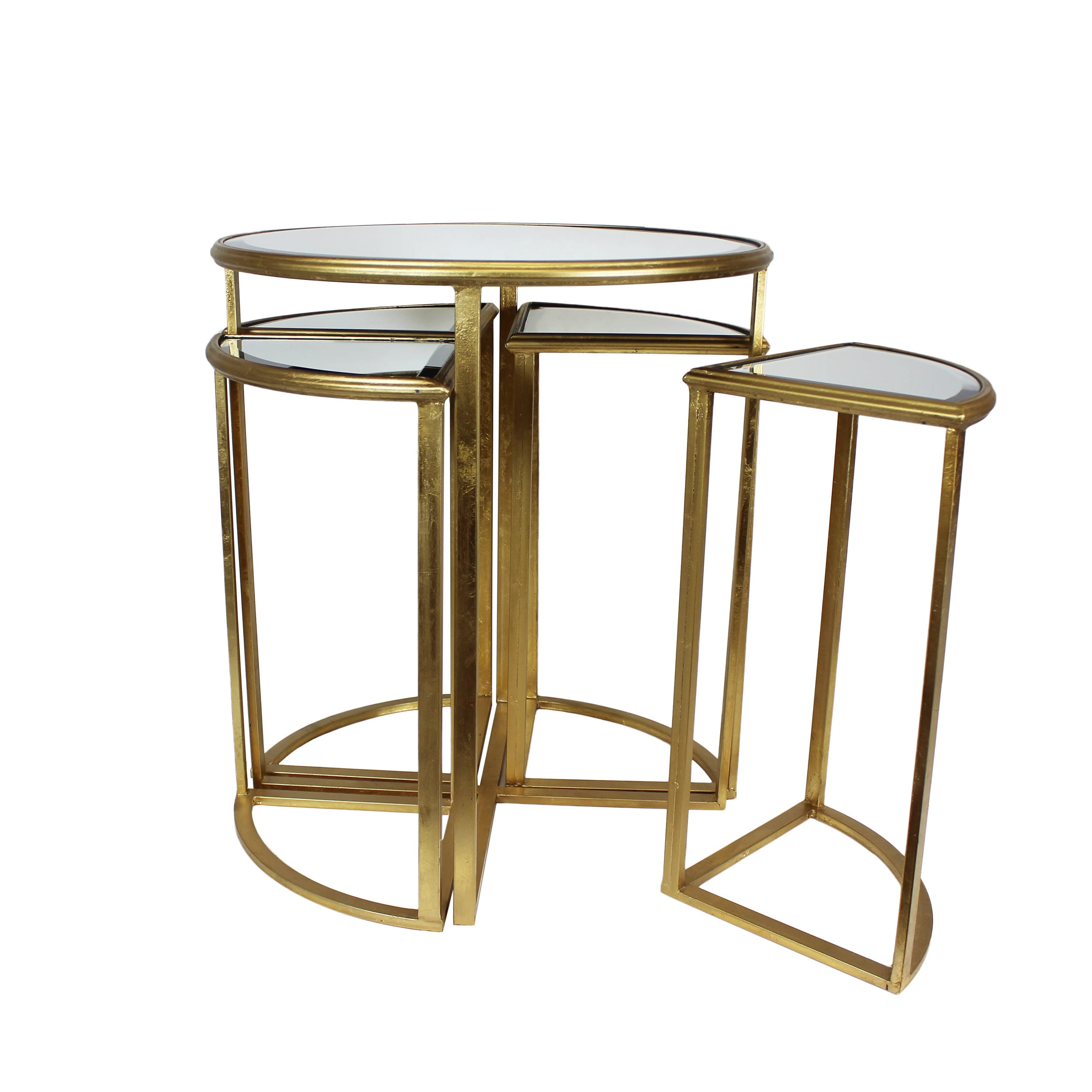 urban designs round gold mirror nesting accent table set tables with matching mirrors free shipping today home decorators catalog bronze and glass end coastal console front entry