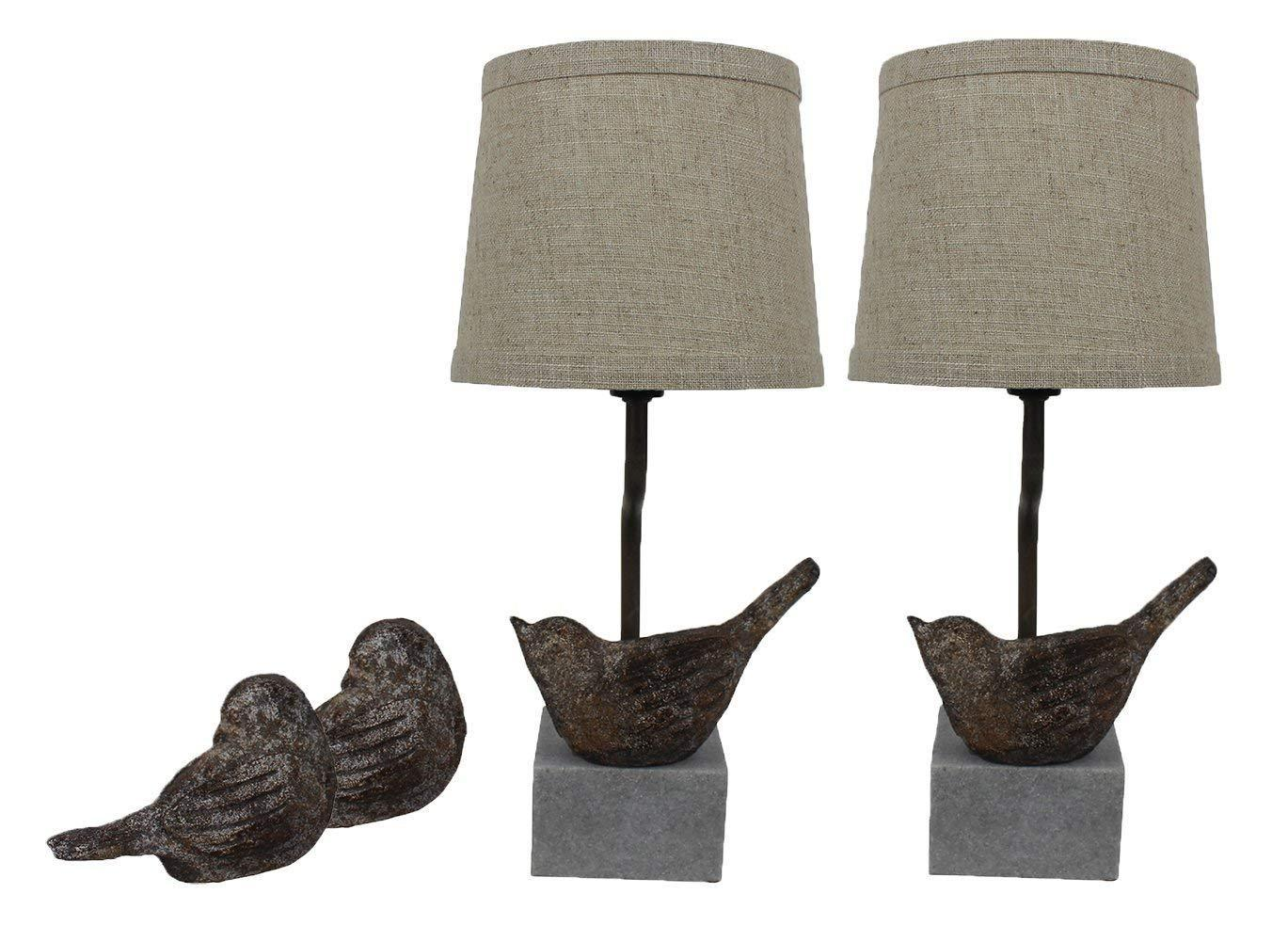 urbanest set bird mini accent lamps with shades within lamp ideas table narrow farmhouse treasure trove furniture garden chairs screw wooden legs long bar height antique folding