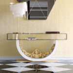 uses gold console table unique accent gallery glass bedside tablecloth round patio cover pier imports small metal end nursery west elm marble mirrored coffee set base mango wood 150x150