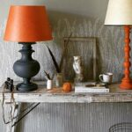 using table lamps for accent colour where pooky meets farrow ball and lamp metal coffee side set silver bedroom white light wood nightstand tile transition weathered tabletop 150x150