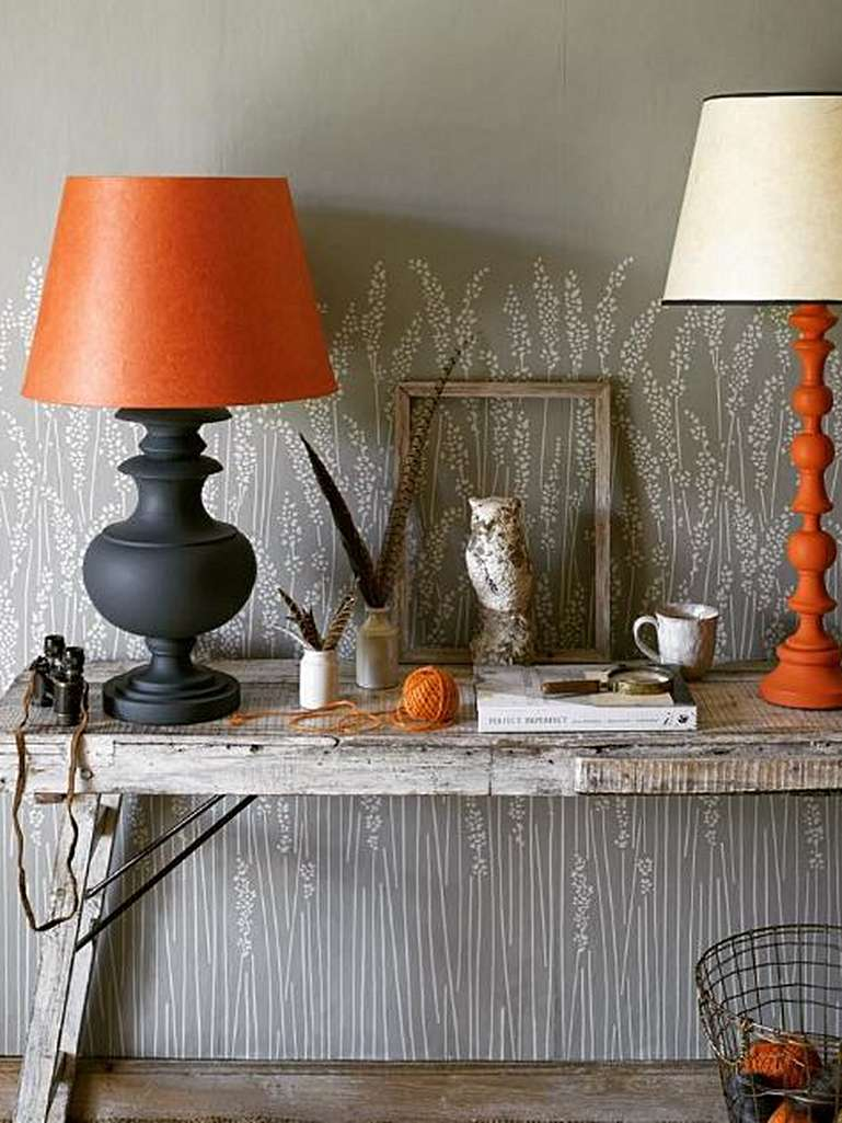 using table lamps for accent colour where pooky meets farrow ball and lamp metal coffee side set silver bedroom white light wood nightstand tile transition weathered tabletop