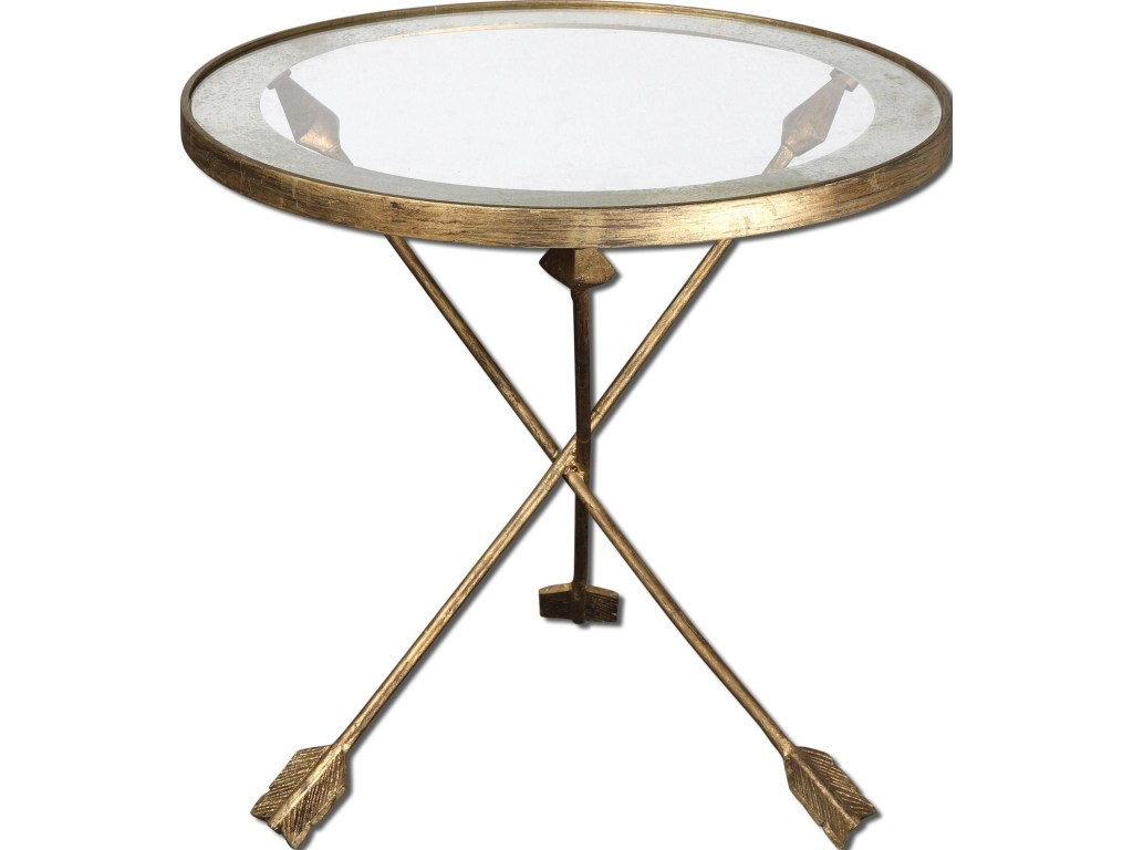 uttermost accent furniture aero table with feathered products color martel furnitureaero round bronze pottery barn glass top coffee side plans skinny end ikea home goods dressers