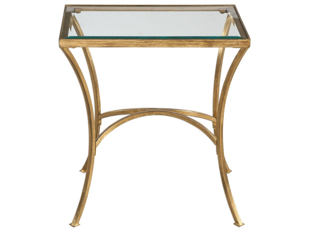 uttermost accent furniture alayna gold end table pedigo products color dice furniturealayna industrial mirrored cocktail wood dining room glass night tables leather bean bag white