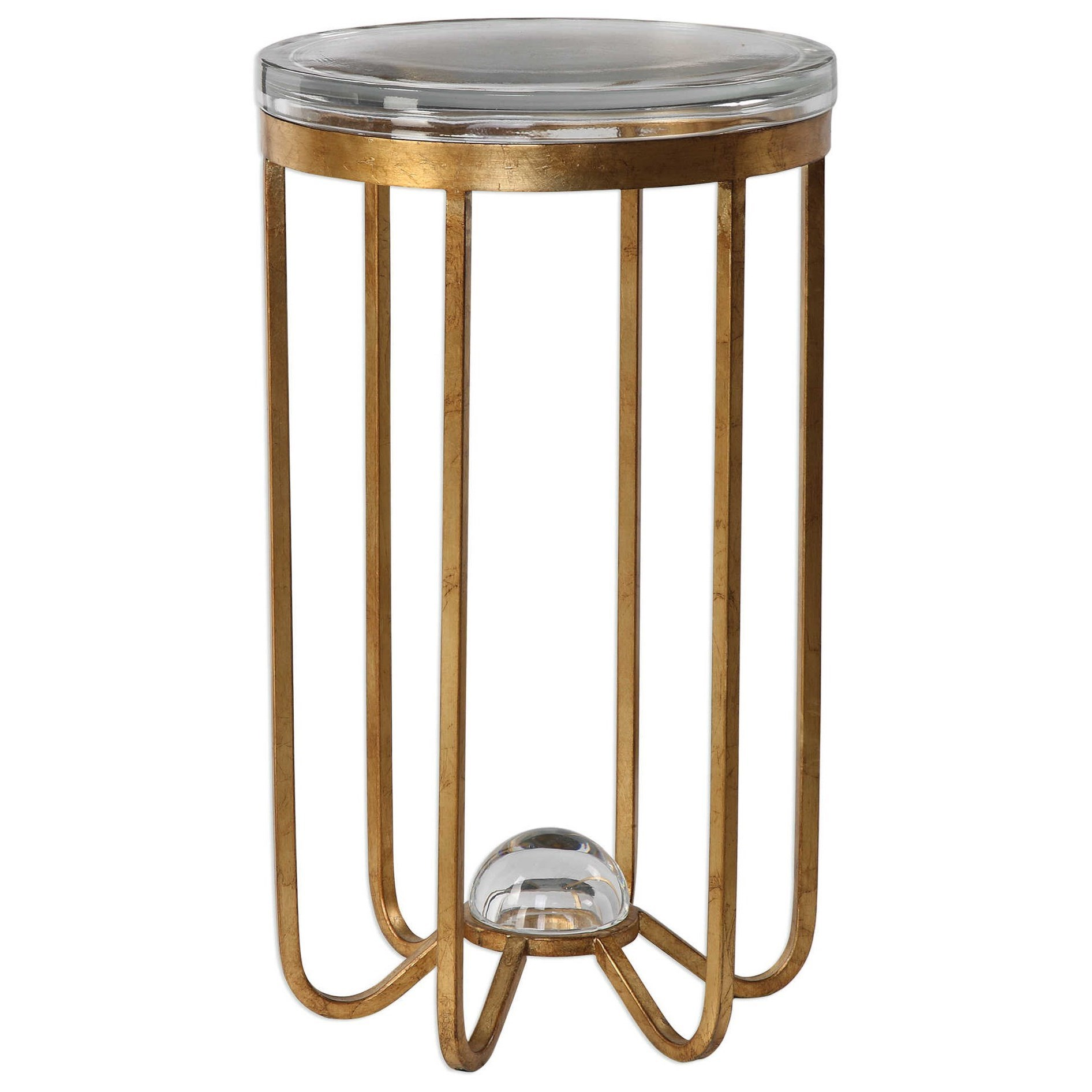 uttermost accent furniture allura gold table tables leather trunk coffee light colored wood end antique blue pastel narrow mirrored console cherry couch round aluminum stacked