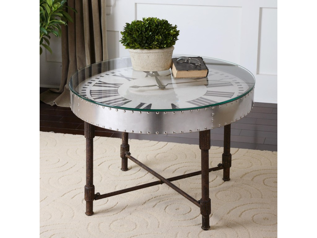 uttermost accent furniture cassem clock table corner products color dice furniturecassem marble coffee and end tables glass night patio chairs cut crystal lamp floor length mirror
