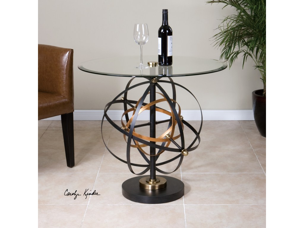 uttermost accent furniture colman sphere table dream home products color dice red furniturecolman tree stump end heavy umbrella base stands metal and glass nesting tables rustic