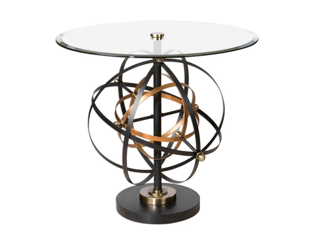 uttermost accent furniture colman sphere table dream home products color martel furniturecolman round mosaic garden pennington work light rattan side glass top waterproof patio