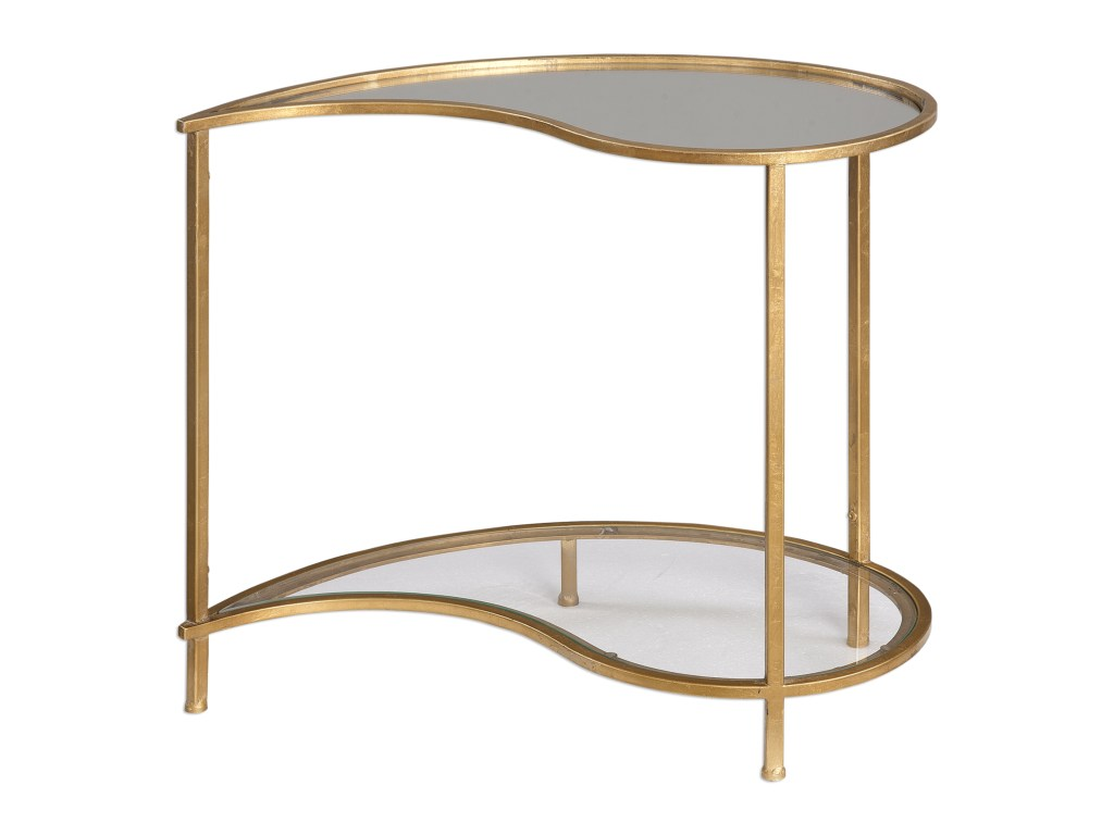 uttermost accent furniture darcie teardrop bunching side table products color blythe furnituredarcie round brass dining wooden chairs mission style end plans card cloth old coffee