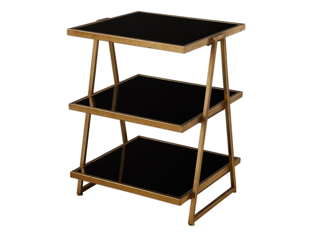uttermost accent furniture garrity black glass table products color tan threshold furnituregarrity bookshelf with doors windham side slim end mahogany marble cube pottery barn