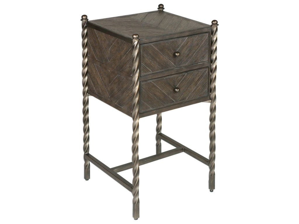 uttermost accent furniture hagar oak table howell products color quatrefoil furniturehagar small end with marble top west elm industrial storage console wall jcpenney drapes