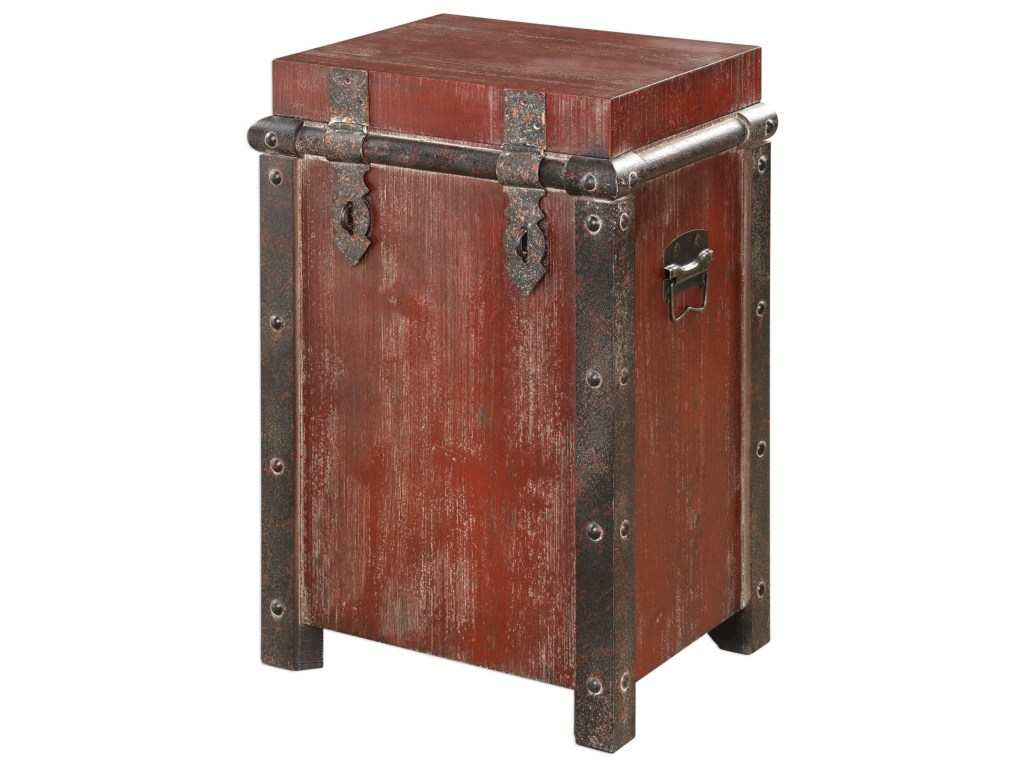 uttermost accent furniture isaac wine red table miskelly products color dice furnitureisaac long narrow end square plant stand wide nightstand small wood antique coffee tables
