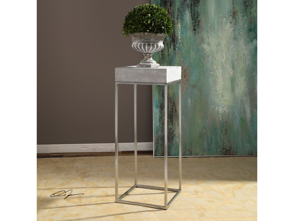 uttermost accent furniture jude industrial modern plant stand products color table furniturejude metal coffee set antique with glass top centerpiece ideas for home farmhouse gray