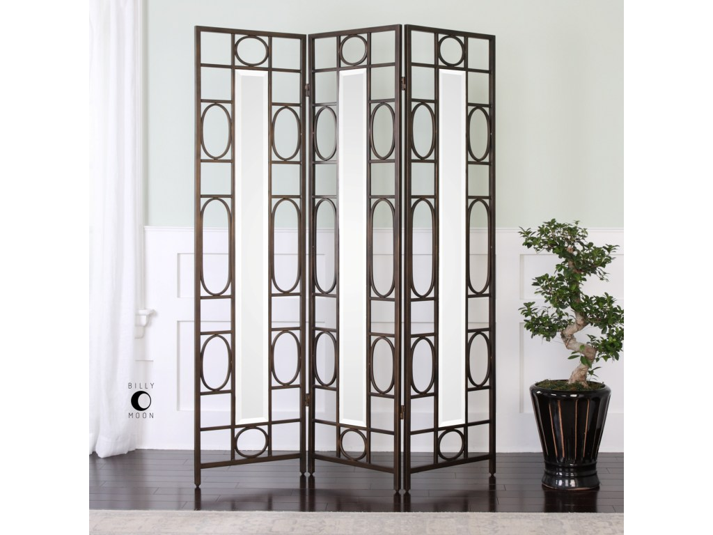 uttermost accent furniture keagan iron floor screen bennett home products color gin cube table furniturekeagan barn door room divider very garden magnussen pinebrook end pier one