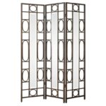 uttermost accent furniture keagan iron floor screen bennett home products color gin cube table furniturekeagan narrow outdoor dining glass wood coffee modern white resin side 150x150