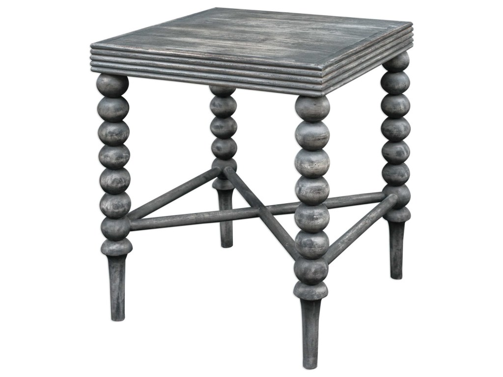uttermost accent furniture kunja gray end table miskelly products color blythe furniturekunja narrow console cabinet glass decor cantilever patio umbrellas west elm mid century