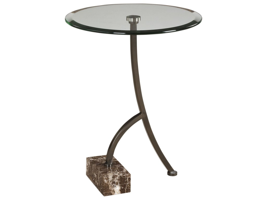 uttermost accent furniture levi round bronze table miskelly products color laton mirrored furniturelevi antique side pallet coffee and end tables kitchen tablecloth marble tulip