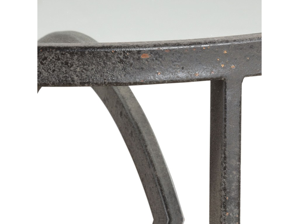 uttermost accent furniture lucien iron table bennett home products color gin cube furniturelucien small round tablecloth shabby chic end tables pier one imports grey green paint