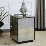 uttermost accent furniture matty mirrored side table products color cube furniturematty yellow target affordable modern outdoor black wicker patio red chinese lamps pub set malm 150x150