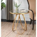 uttermost accent furniture montrez gold table wayside products color dining room furnituremontrez white round set moroccan target dressers patio coffee with umbrella hole cover 150x150
