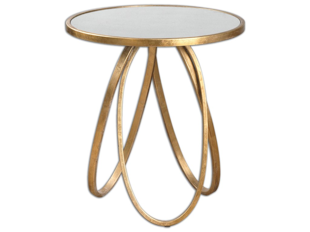 uttermost accent furniture montrez gold table wayside products color round furnituremontrez laton mirrored ikea living room ideas fall tablecloth tufted bamboo nesting tables mid