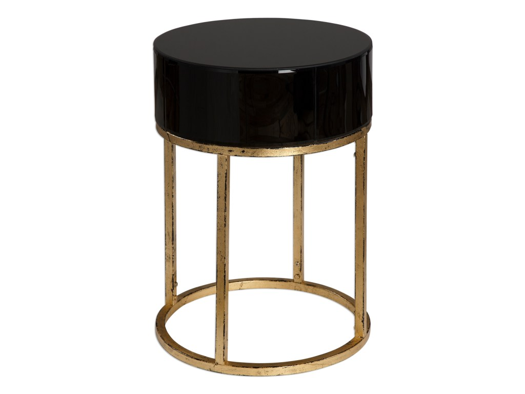uttermost accent furniture myles curved black table howell products color blythe furnituremyles iron glass end tables garden drinks cooler round marble and chairs drop leaf dining