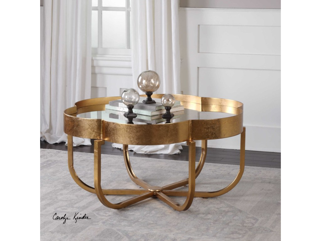 uttermost accent furniture occasional tables cydney gold products color end table tablescydney coffee blue striped curtains ikea hallway storage patterned plastic tablecloths nic