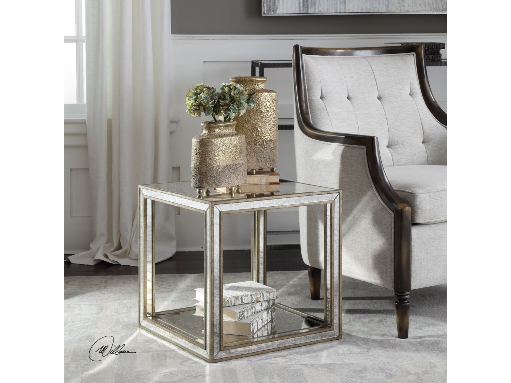 uttermost accent furniture occasional tables julie mirrored products color glass table with drawer tablesjulie battery operated lamps ikea carpet trim farmhouse dining room large