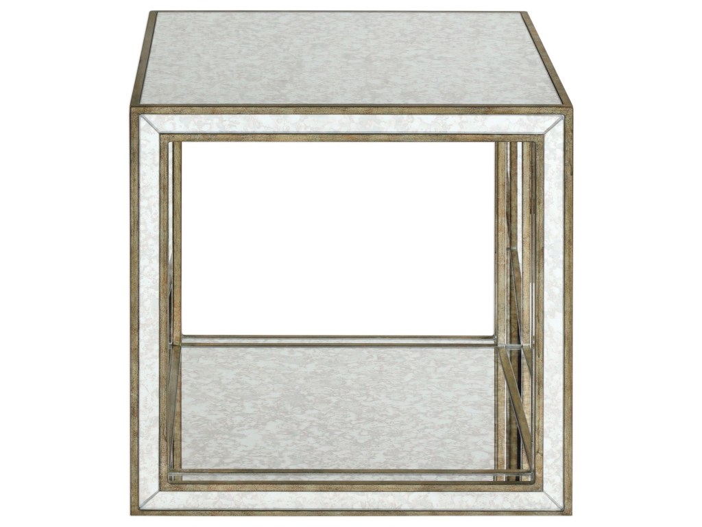 uttermost accent furniture occasional tables julie mirrored products color table and mirror tablesjulie ultra slim console target white dresser pier one imports dining room west