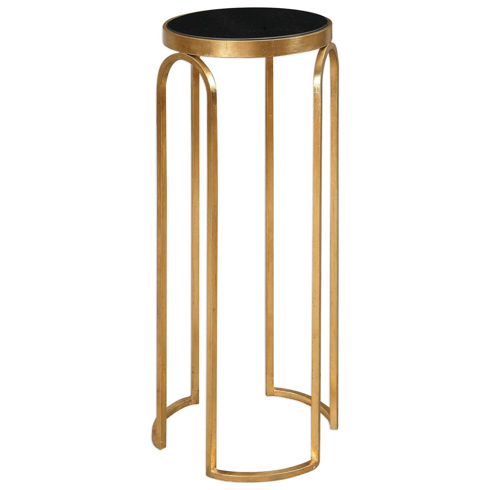 uttermost accent furniture occasional tables novalie gold products color table small turquoise inch square end blue living room home accents dishes canopy umbrella exterior entry
