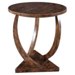 uttermost accent furniture occasional tables pandhari round products color table antique victorian coffee bell side sectional with ott nesting telephone and seat metal counter 150x150