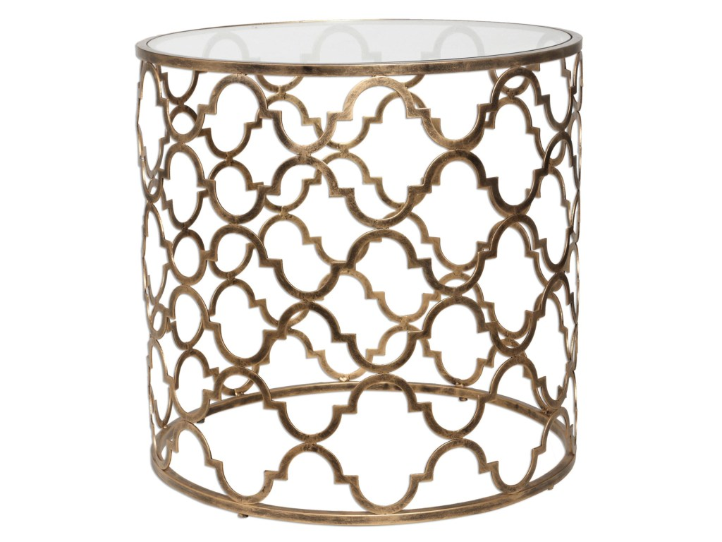 uttermost accent furniture occasional tables quatrefoil end products color wood table tablesquatrefoil ikea childrens storage solutions door saddle small tall garden chairs white