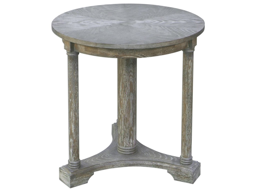 uttermost accent furniture occasional tables thema weathered gray products color mackenzie mirrored table tablesthema green linen tablecloth west elm bookshelf drum shaped bedside