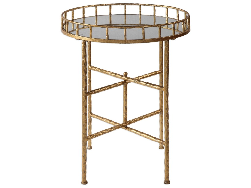 uttermost accent furniture occasional tables tilly bright products color gold end table tablestilly pineapple cutter low garden parsons desk round mirrored coffee outdoor dining