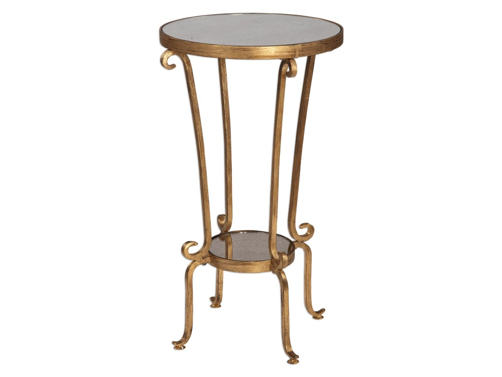 uttermost accent furniture occasional tables vevina round products color table dunk bright end antique pedestal french chairs west elm free shipping code outdoor clearance wood