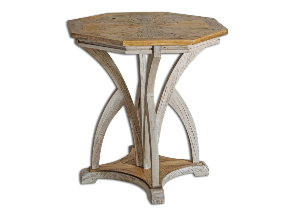 uttermost accent furniture ranen aged white table miskelly products color furnitureranen square for oval garden beach themed room decor gray end rustic threshold nightstand metal