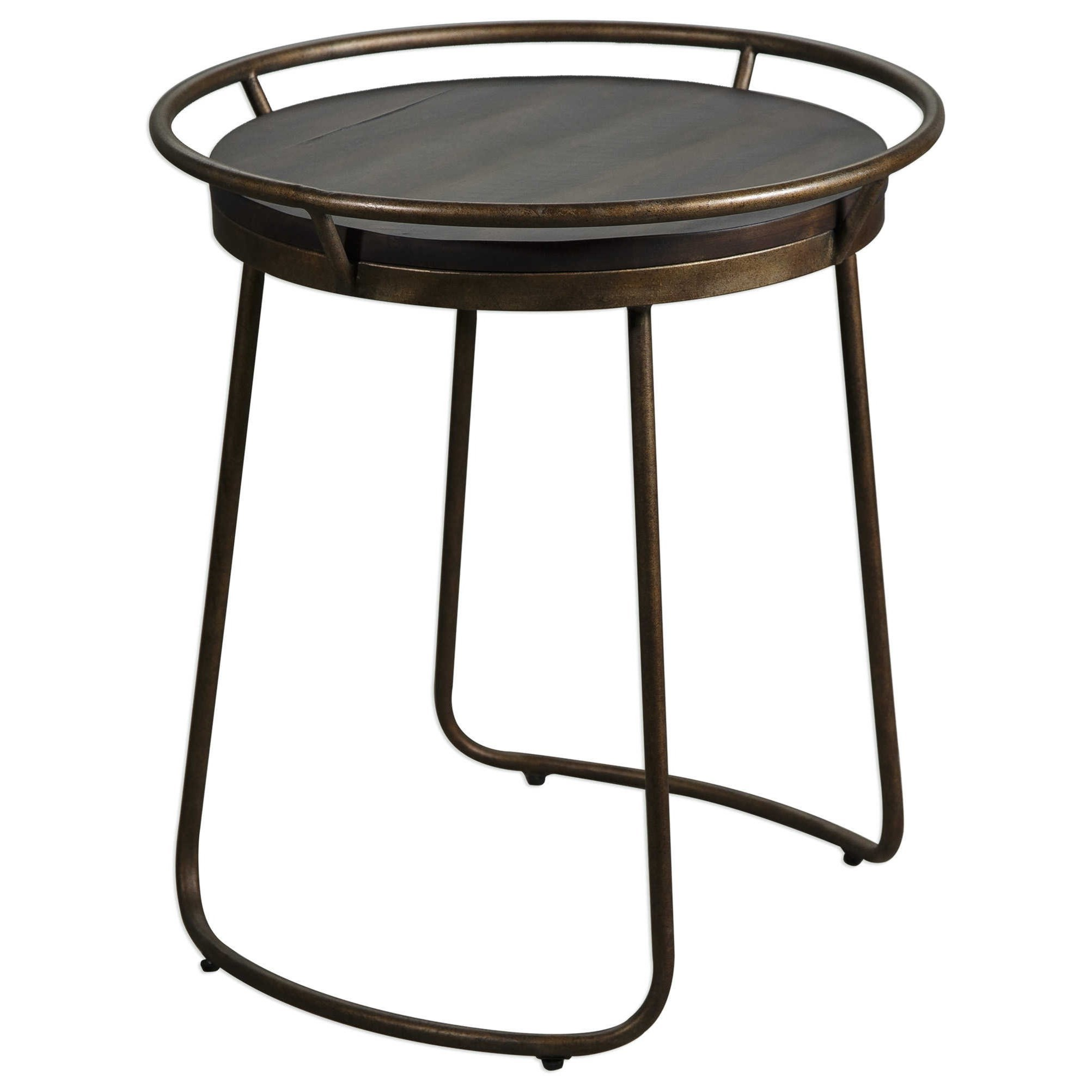 uttermost accent furniture rayen round table suburban products color laton mirrored west elm tripod floor lamp small glass metal hairpin legs silver trunk coffee pallet and end