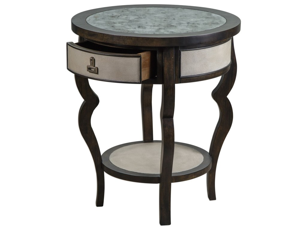 uttermost accent furniture remy dark walnut table products color dice red furnitureremy pier mirrors wide nightstand home decor tablecloth for rectangle long narrow end teak