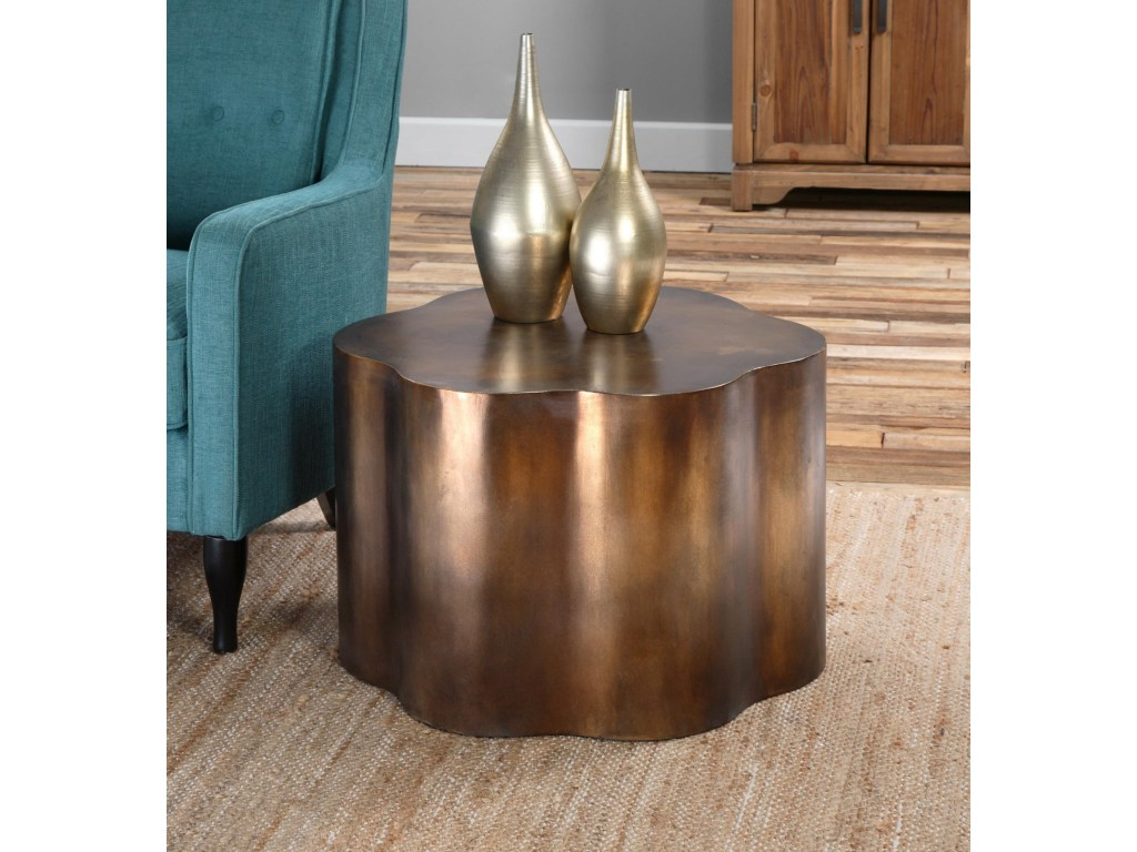 uttermost accent furniture sameya oxidized copper table products color threshold furnituresameya black garden chairs fine entry way storage leick corner desk glass patio side