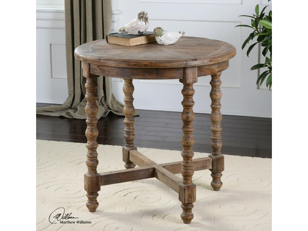 uttermost accent furniture samuelle wooden end table miskelly products color mirrored cube furnituresamuelle raw wood side banquet tablecloths short patio umbrella replacement