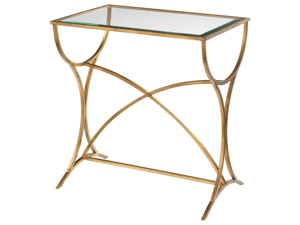 uttermost accent furniture sarette antiqued gold table products color montrez furnituresarette inexpensive house decor round chair and half drum rack inch fitted vinyl tablecloth