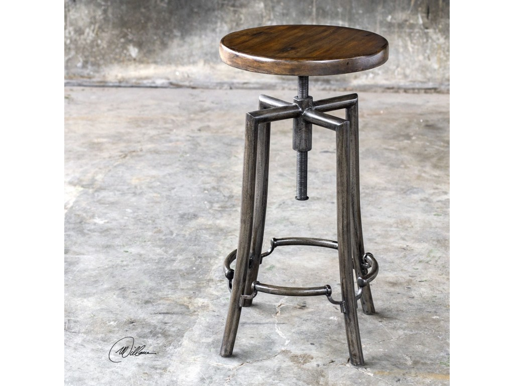 uttermost accent furniture stools westlyn industrial bar stool products color table stoolswestlyn target threshold gold mat for dining teal interior design ideas living room pier