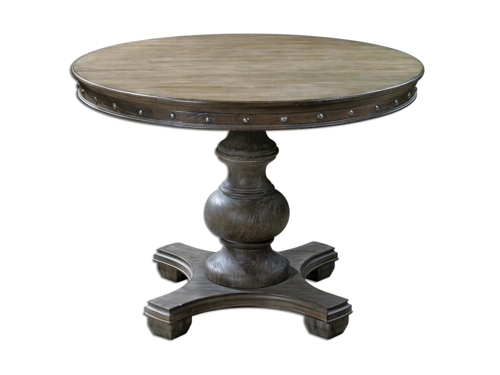 uttermost accent furniture sylvana wood round table miskelly products color metal and furnituresylvana bistro umbrella reclaimed homemade runners coffee tables marble granite