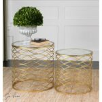 uttermost accent furniture zoa gold tables set products color furniturezoa antique blue table live edge wood nautical themed side stacked crystal lamp quarry narrow mirrored 150x150