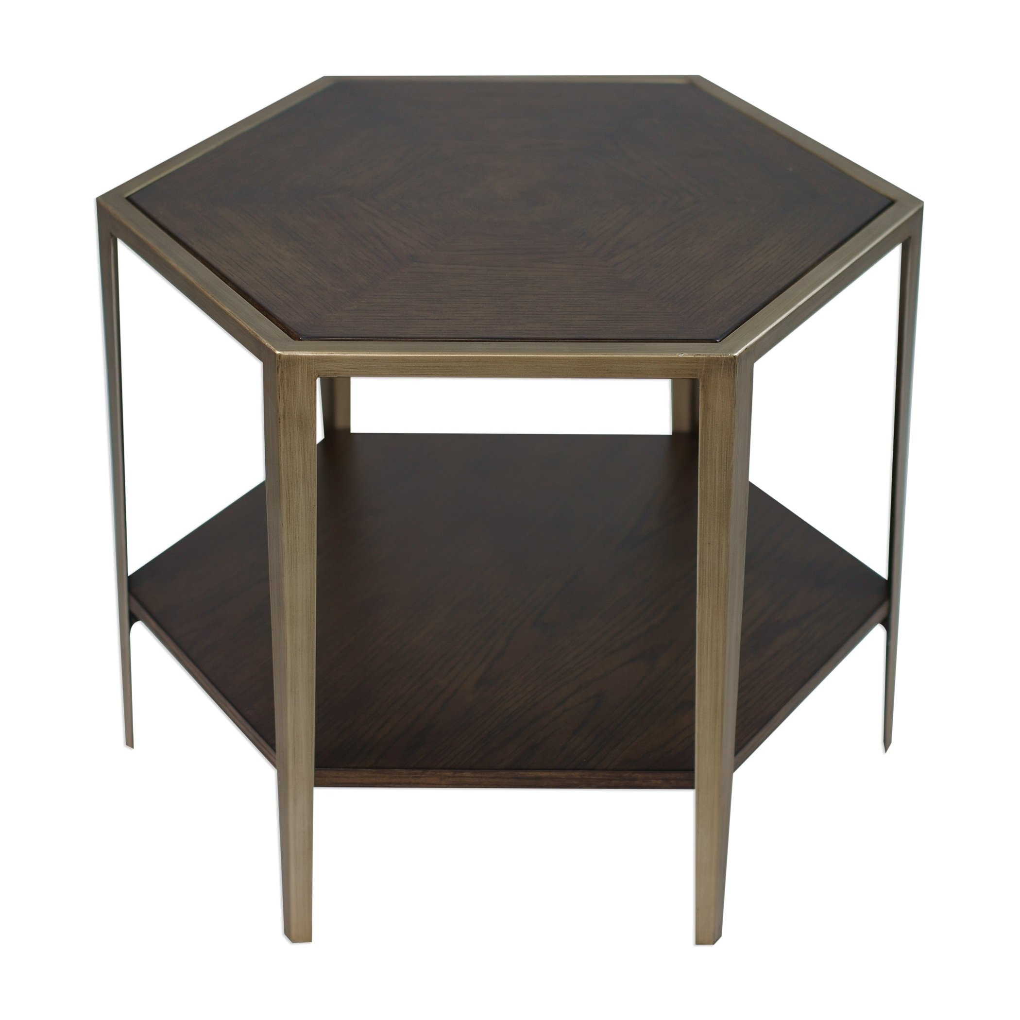 uttermost alicia deep walnut geometric accent table free vanora shipping today diy hairpin legs knotty pine clearance chairs half circle coffee pier one imports credit card